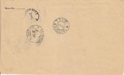 VI. razítko společně s VII. razítkem použité v roce 1903 !!! Rarita