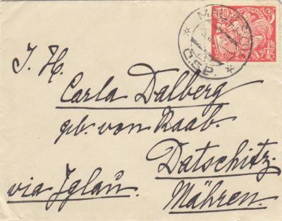 Dalberg Československo 1920-1934