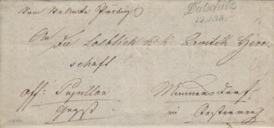 19.1.1840, II. razítko A.8j s datumem, modré
