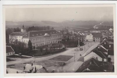 Dačice Dalberg zámek