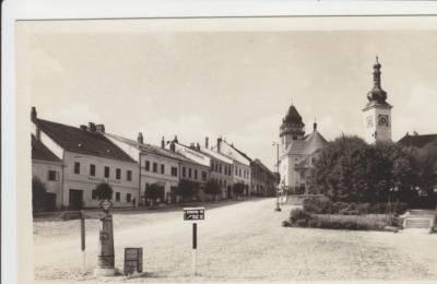 Dačice náměstí