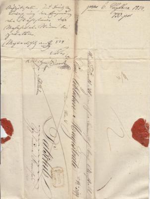 6. září 1834 z Brna přes Želetavu