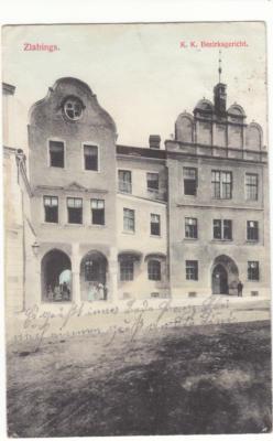 Slavonice - radnice, pošta