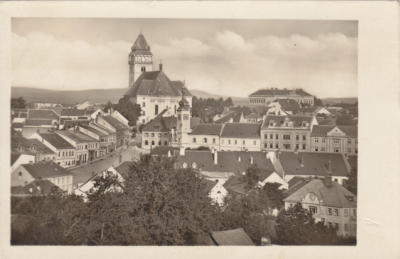 Dačice, březen 1945