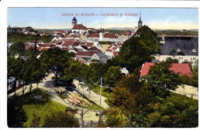 1913, Dačice, ul. Jemnická
