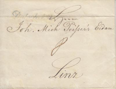 1838 Dačický cukrovar franco 8 Linz